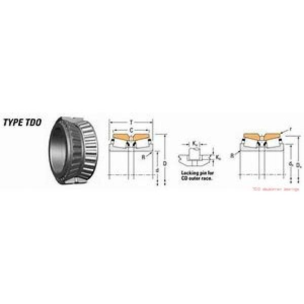 EE127094D/127135 TDO double-row bearings #1 image